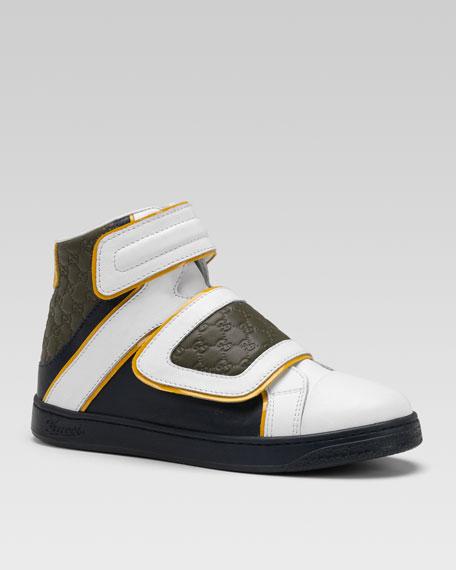 Hi-Top Guccissima Sneaker