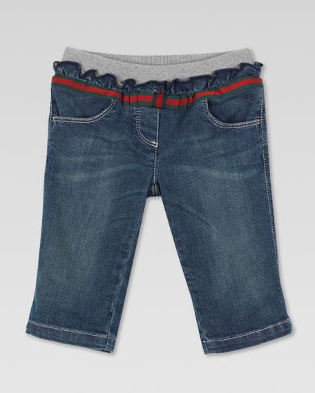 Bow Belt Jeans