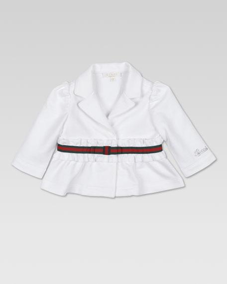Jersey Bow Jacket