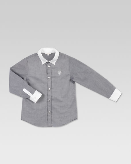 Twill Long-Sleeve Shirt