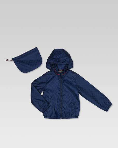 Jacquard Waterproof Zip Jacket