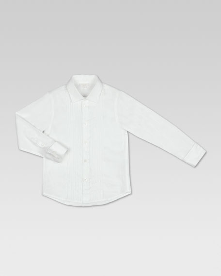 Pique Tuxedo Shirt