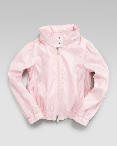 Waterproof Nylon Jacket, Candy Pink