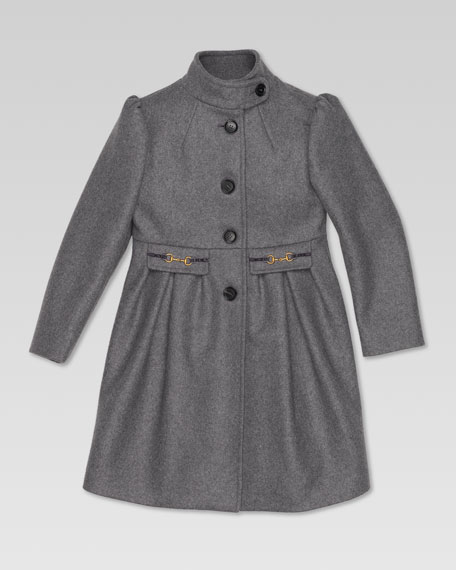 Felt Dress Coat