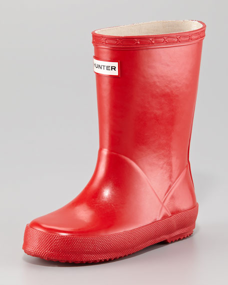 """""""Kids' First Wellie"""" Glossy Boot"""