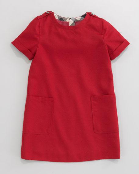 Mini Flannel Dress
