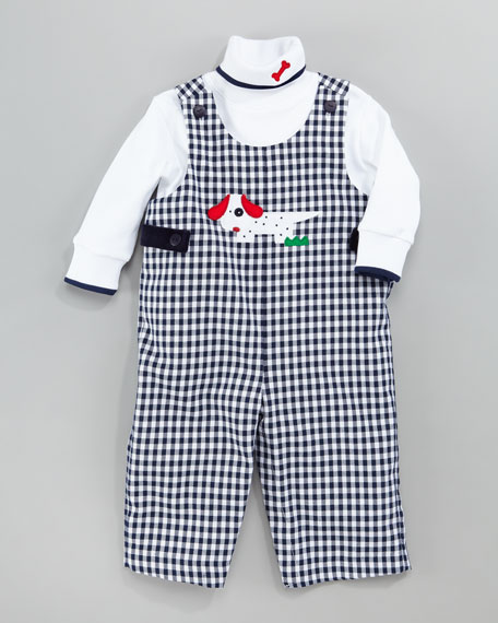 Spotted Dog Jumper and Turtleneck Set, 12-24 Months