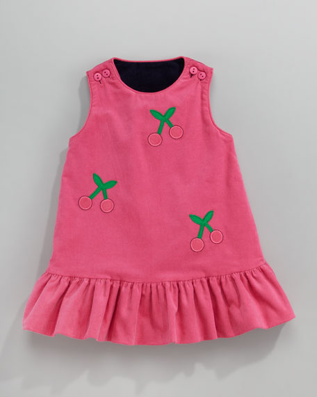 Reversible Corduroy Dress, 12-24 Months