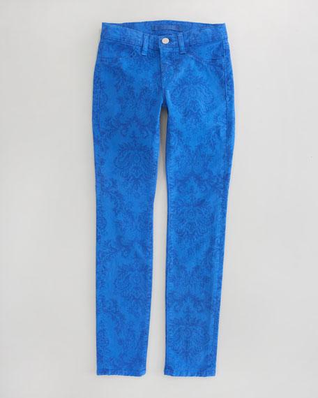 Baroque Skinny-Leg Jeans