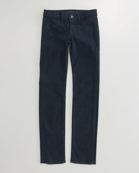 Luxe Twill Skinny Stretch Jeans