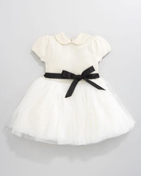 Tulle-Skirt Dress, 12-24 Months