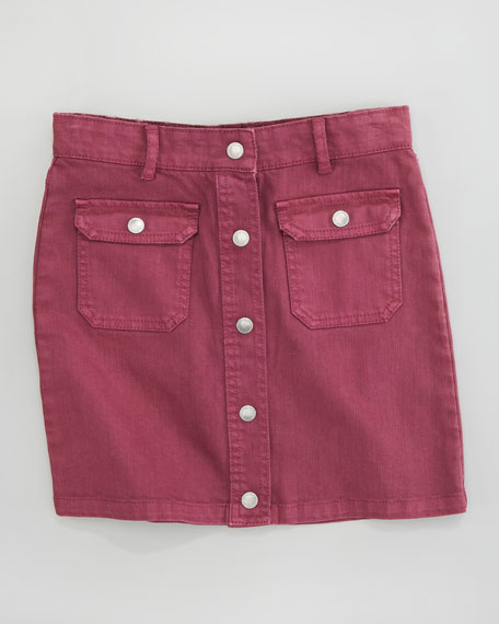 Tara Denim Skirt