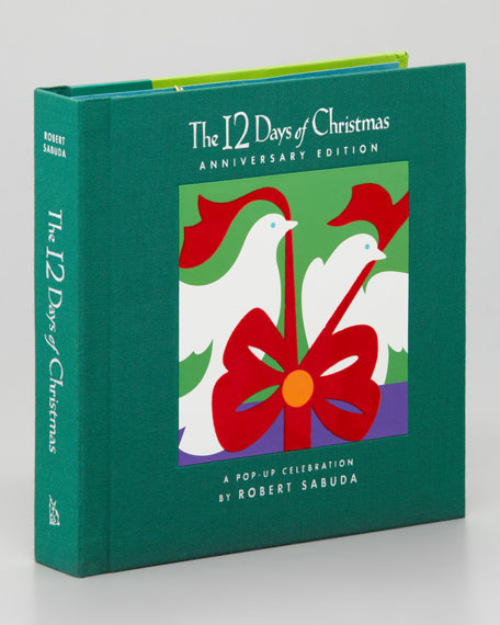 """12 Days of Christmas"" Story Book"