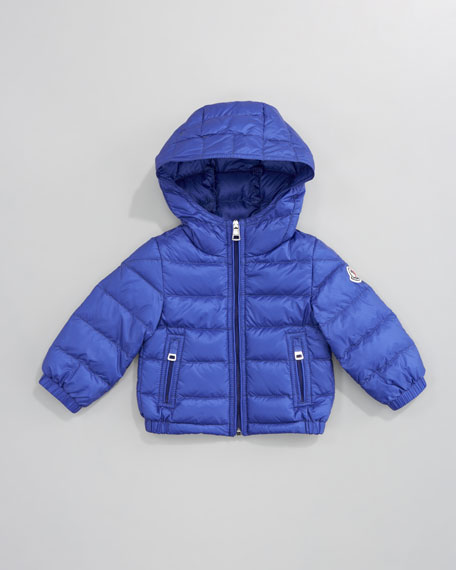 Dominic Detachable-Hood Jacket, Royal