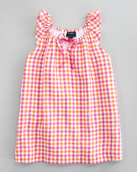 Bright Check Dress