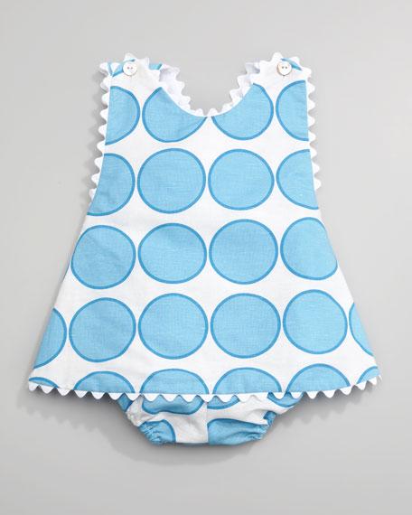 Circle Linen Dress & Bloomers