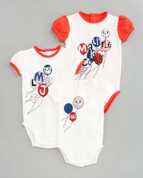 Baby's 1st Year Bodysuit Gift Set, Ecru Red