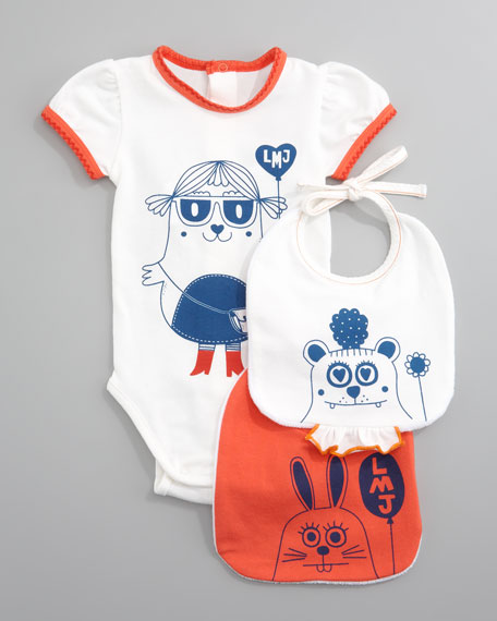 Bodysuit & Bibs Gift Set