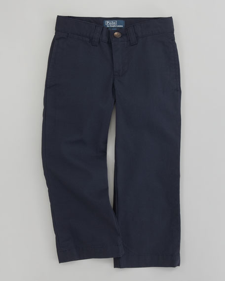 Classic Navy Suffield Chino Pants, Sizes 2T-7
