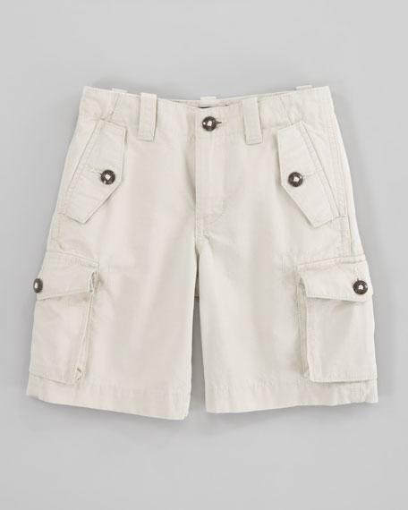 Canadian Basic Sand Cargo Shorts, Sizes 2-7