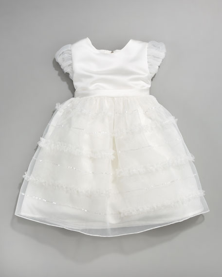 Tiered Organza Dress