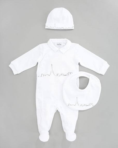 Baby Dior Boy s Three-Piece City Skyline Gift Set 9dcf4bdba81