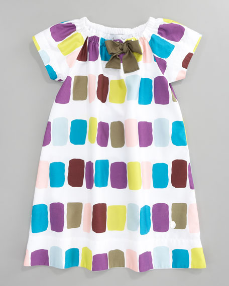Print Shift Dress, Sizes 5-8