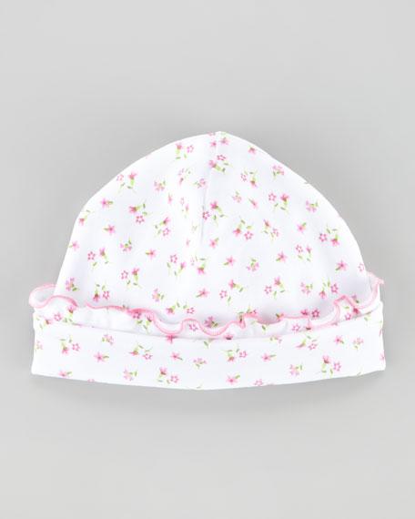 Garden Pink Floral-Print Hat