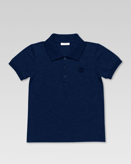 POLO SHIRT W/GUCCI COLLAR