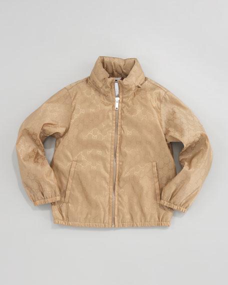 GG Waterproof Nylon Jacket