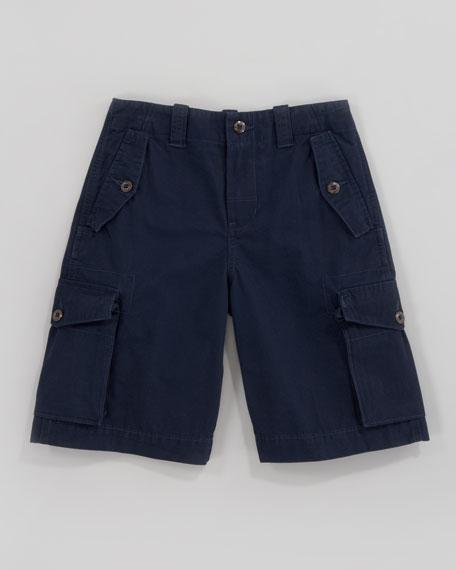 Canadian Aviator Navy Cargo Shorts, Sizes 8-10