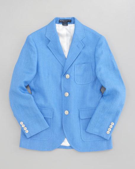 Linen Princeton Jacket, Sizes 10-14