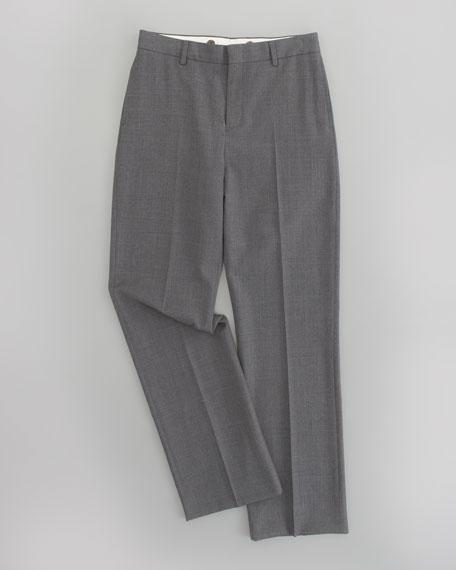 Flat Front Woodsman Trousers