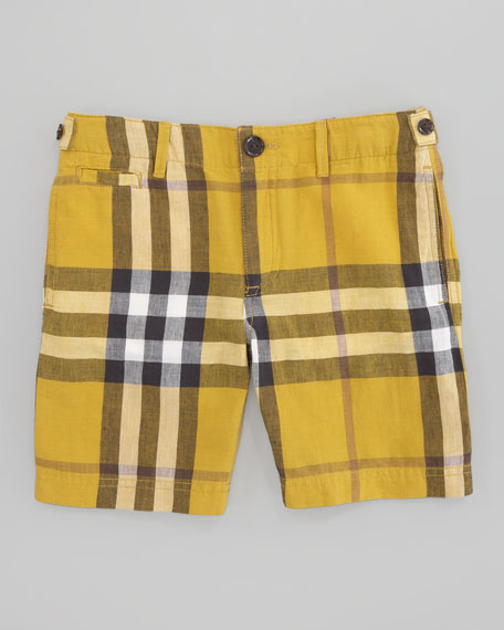 Mini Workwear Check Short