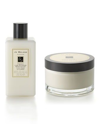 French Lime Blossom Body Lotion & Creme