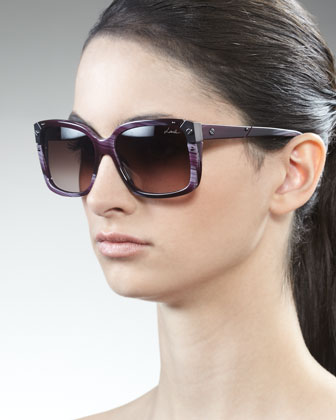 Square Horn Sunglasses