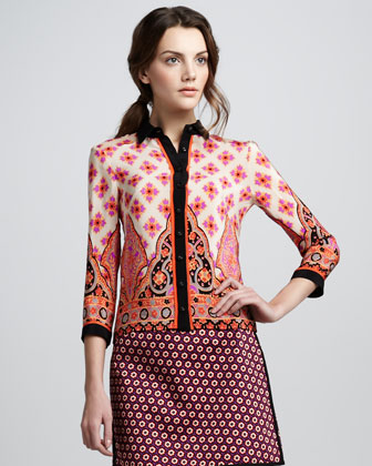 Dreamy Printed Blouse