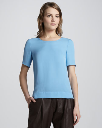 Milya Short-Sleeve Top