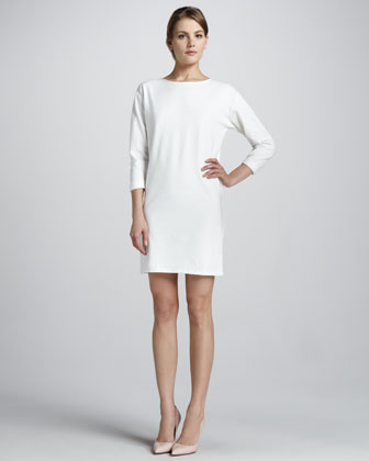 Ode Crepe Shift Dress