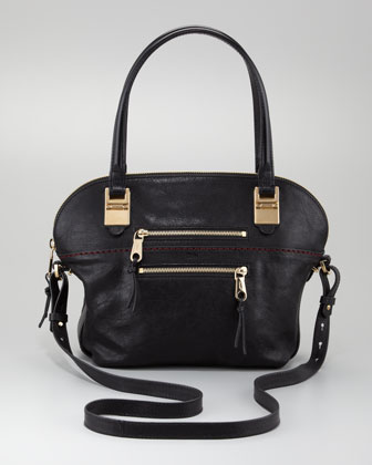 Chloe Angie Large Shoulder Bag Black 42