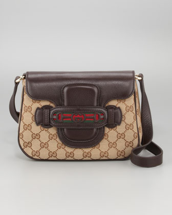 Gucci Dressage Gg Flap Shoulder Bag Medium 4