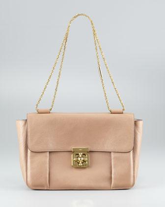 Chloe Elsie Shoulder Bag Black 85