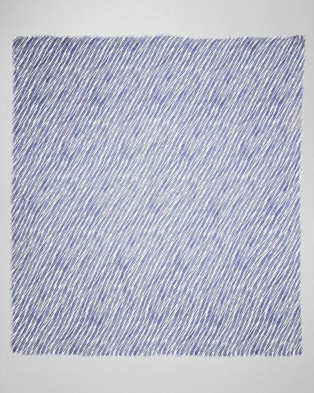 Shibori-Print Scarf
