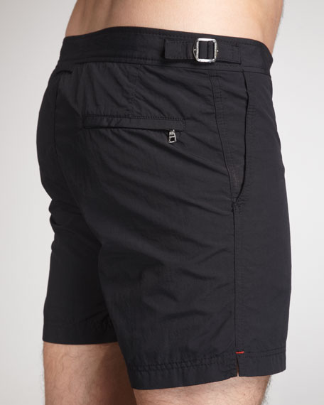 Bulldog Swim Shorts, Black