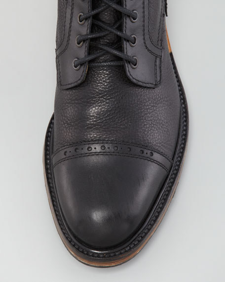 Cap-Toe Boot