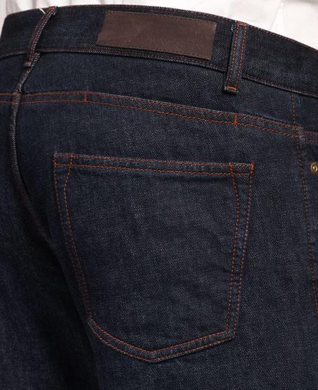 Slim Navy Jeans