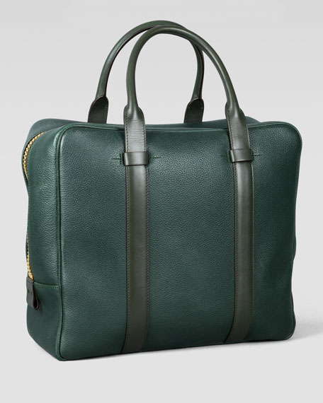 Buckley Square Briefcase, Green