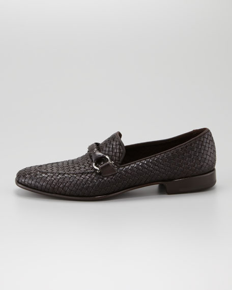 Woven Bit Loafer