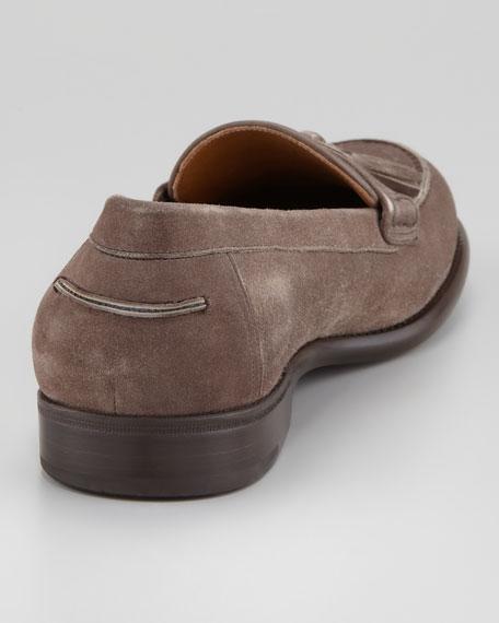 Treviso Tassel Loafer, Gray