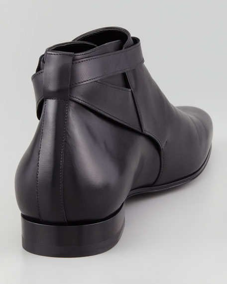 Jodhpur Cropped Boot, Black